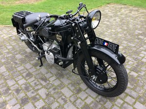1942 Gnome et Rhone AX2 - 800cc military excellent