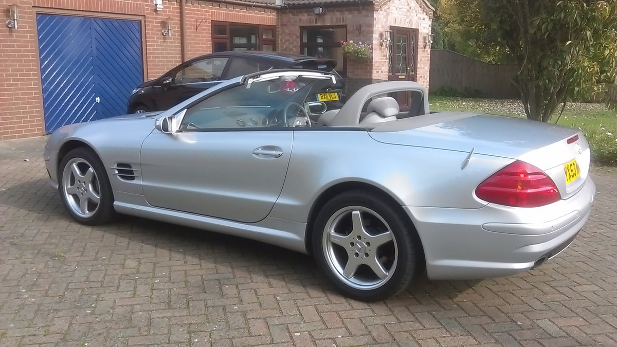 2003(53) MERCEDES BENZ SL350 AMAZING LOW MILEAGE For Sale (picture 3 of 6)