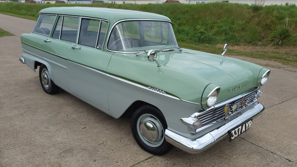 1960 STUNNING VAUXHALL VICTOR ESTATE. SOLD (picture 1 of 6)