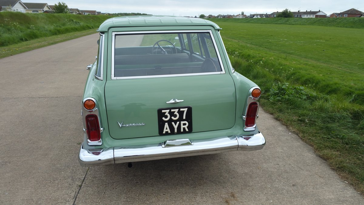 1960 STUNNING VAUXHALL VICTOR ESTATE. SOLD (picture 5 of 6)