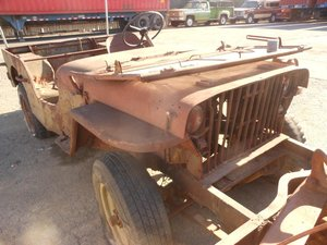 Willys Jeep 1941 slat grill