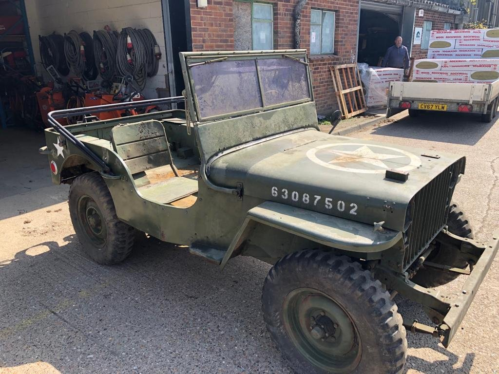 1942 Willys Jeep slat grill SOLD (picture 1 of 6)