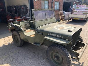 1942 Willys Jeep slat grill