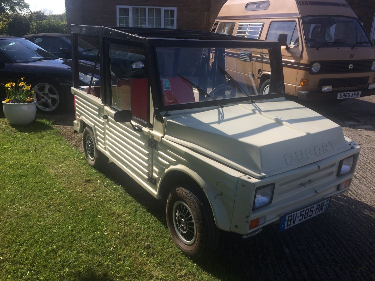 1991 MINI MOKE look alike DUPORT  Micro Car For Sale (picture 2 of 6)