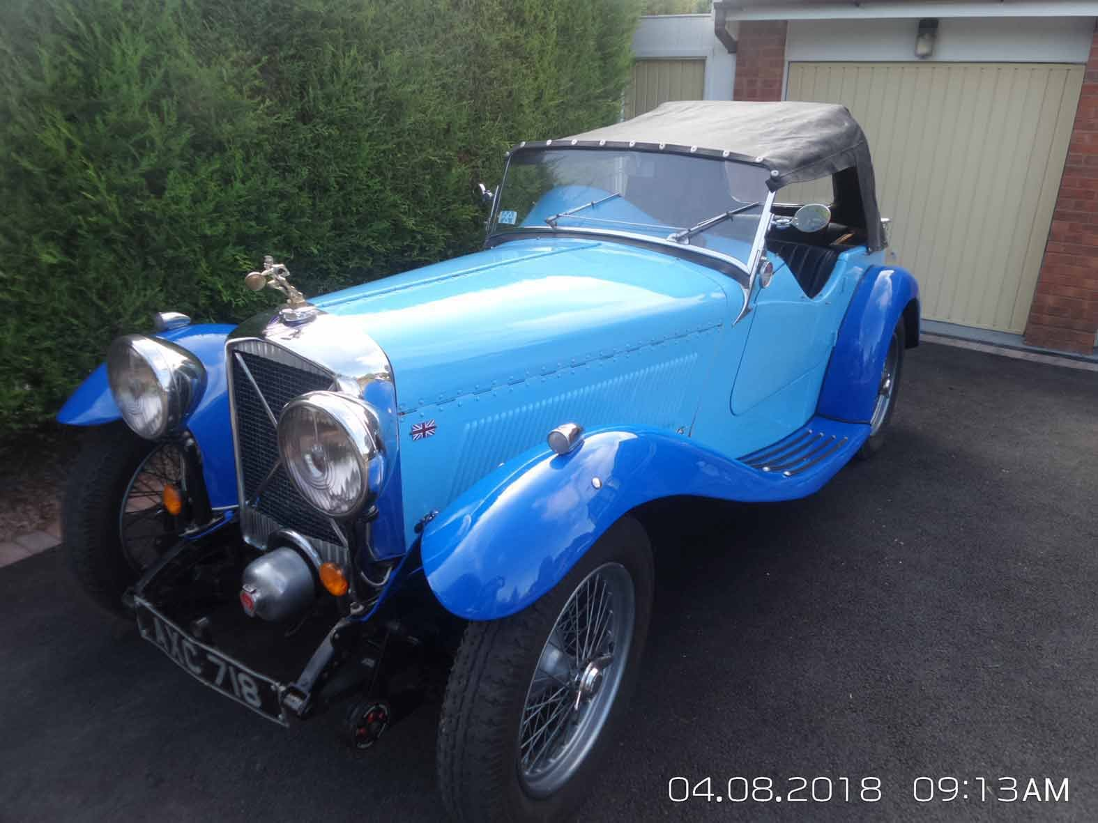 1934 SOLD ******British Salmson ******SOLD SOLD (picture 1 of 6)