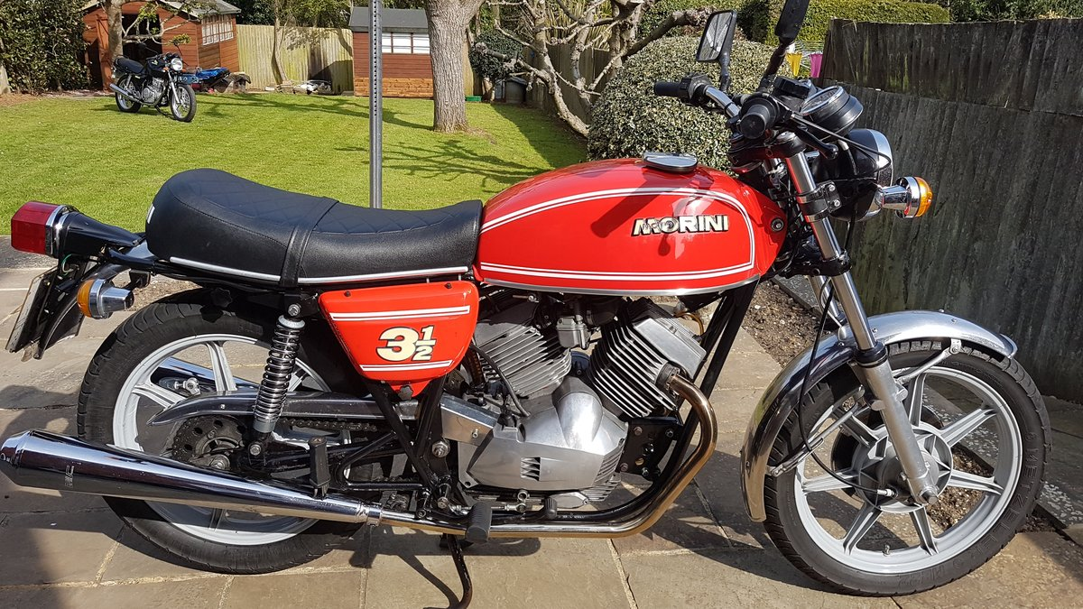 1978 Moto Morini Strada 350 SOLD (picture 1 of 6)