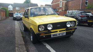 1979 Ford escort 1600 sport for sale For Sale