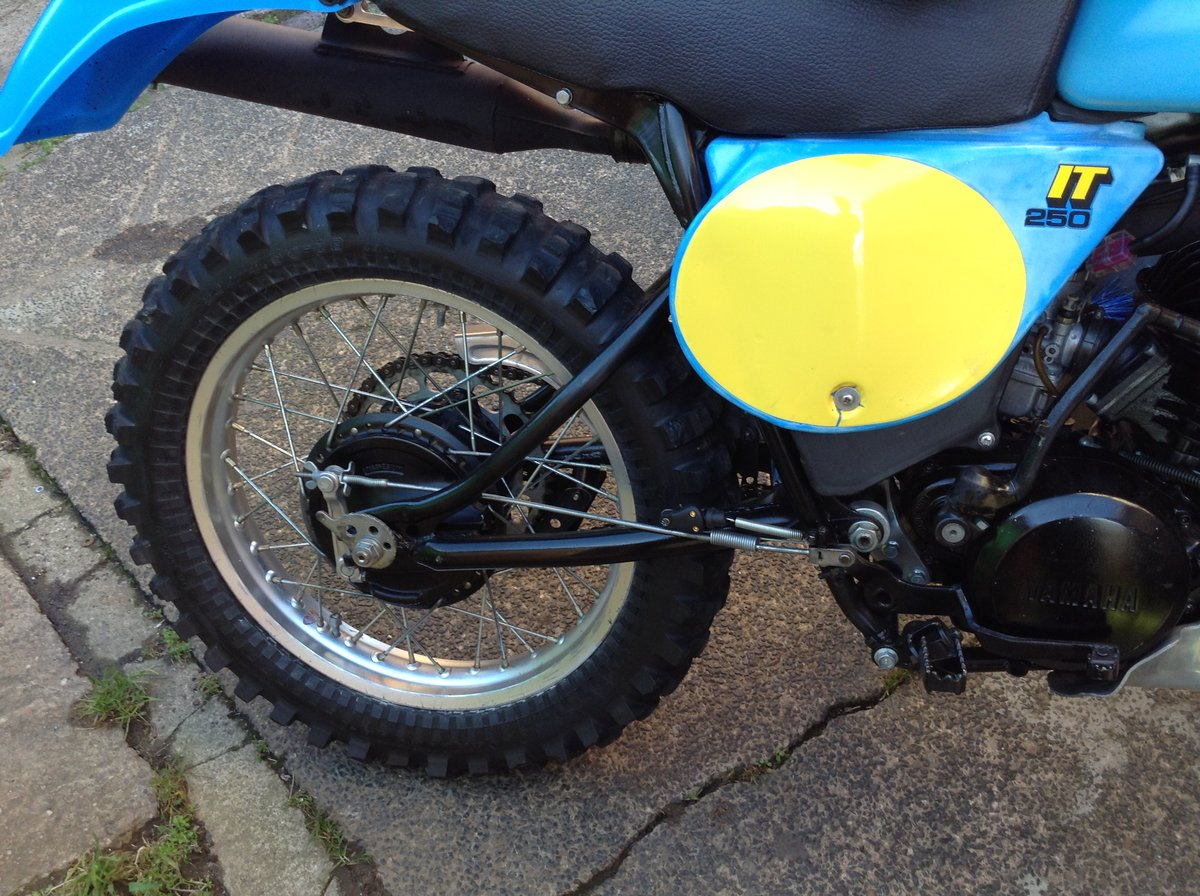 1979 Yamaha IT250 Enduro Registered SOLD (picture 6 of 6)