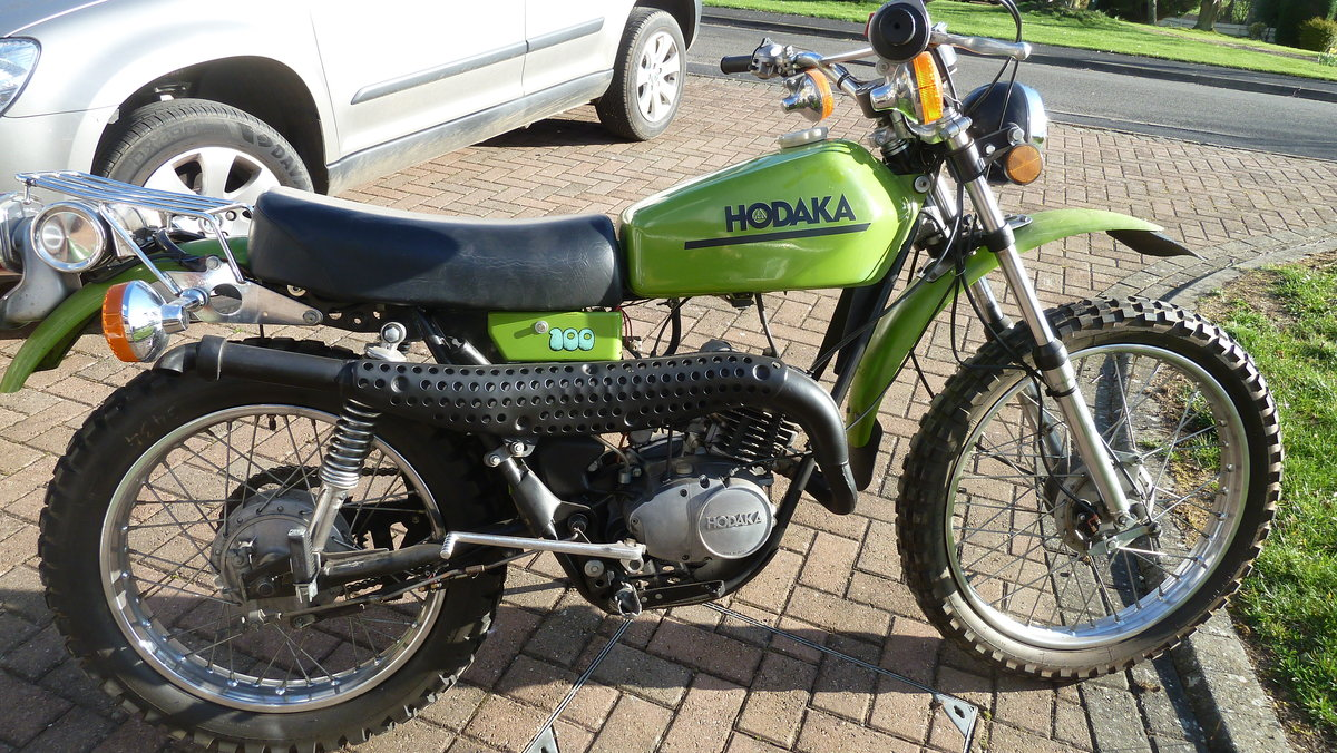1975 HODAKA  :- ROAD TOAD For Sale (picture 1 of 6)