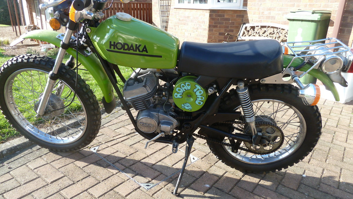 1975 HODAKA  :- ROAD TOAD For Sale (picture 3 of 6)