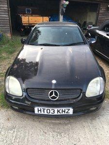 2003 Mercedes SLK Non-Runner  - Spares/Repairs
