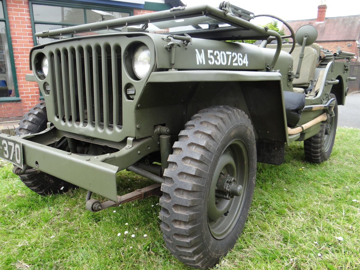 1943 Willys Ford GPW Jeep One owner since 1975 SOLD (picture 1 of 6)