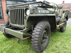1943 Willys Ford GPW Jeep One owner since 1975 For Sale