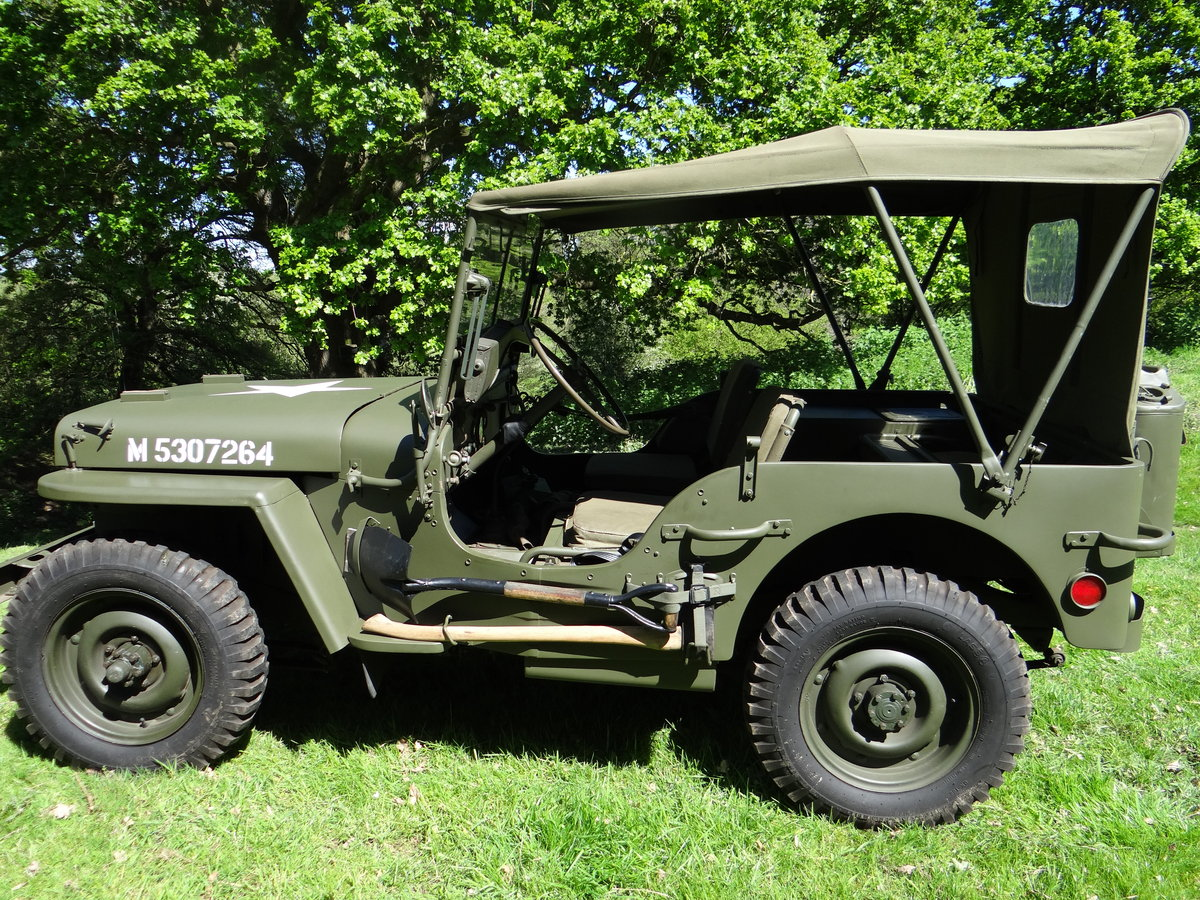 1943 Willys Ford GPW Jeep One owner since 1975 SOLD (picture 2 of 6)