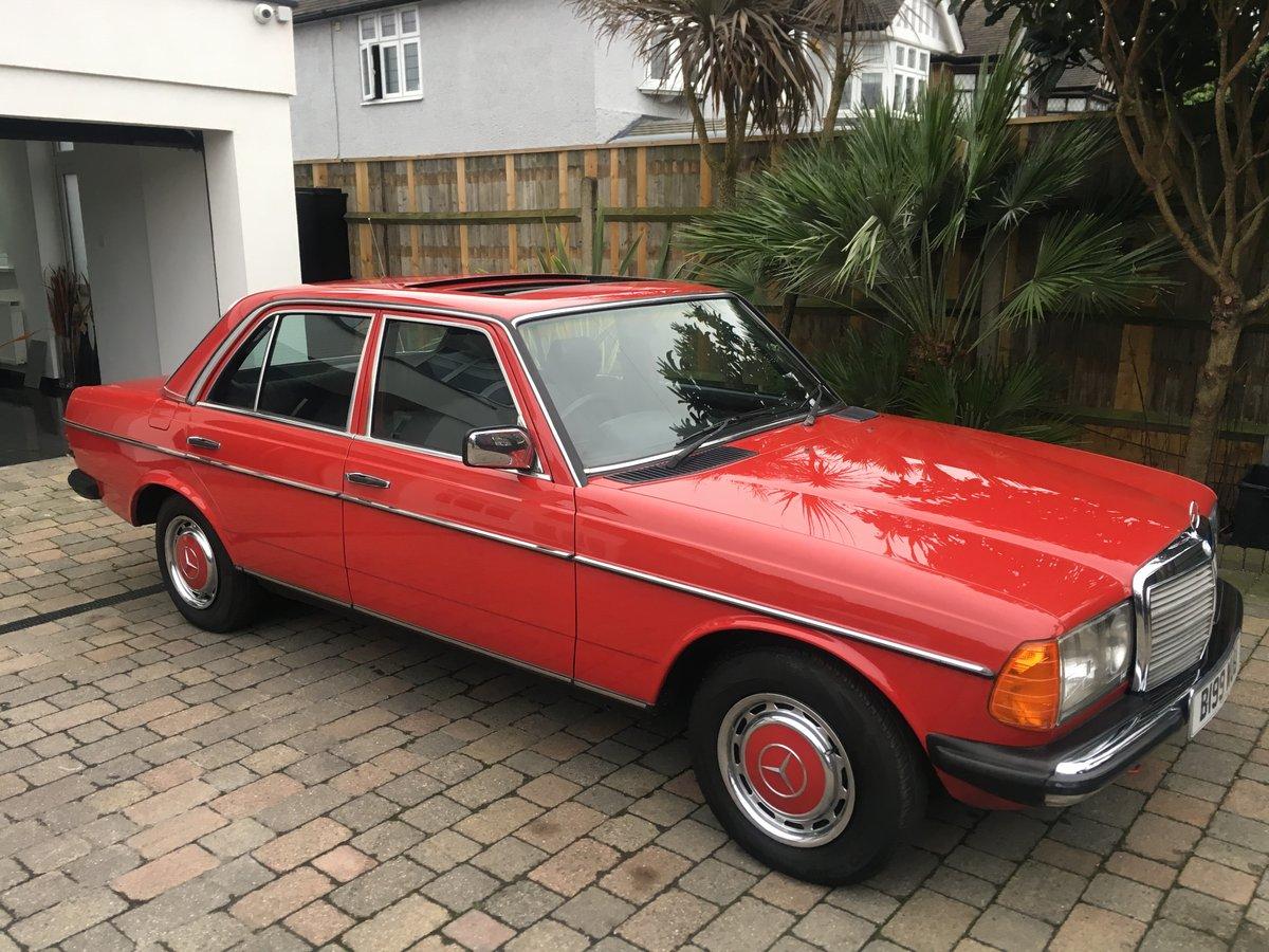 1984 Mercedes 230e w123 Auto For Sale (picture 1 of 6)