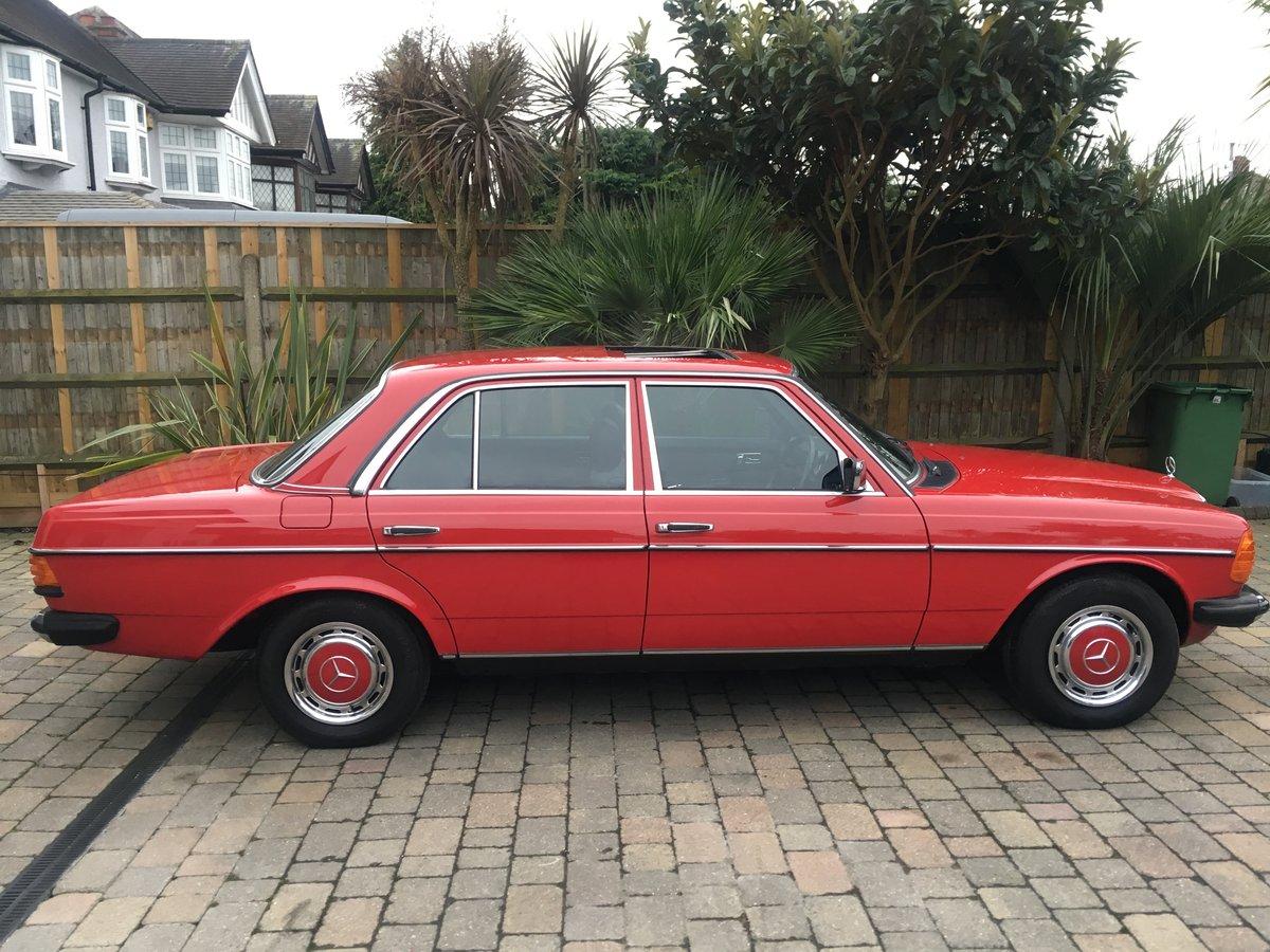 1984 Mercedes 230e w123 Auto For Sale (picture 2 of 6)