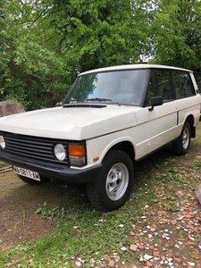1988 Range Rover 2 door Classic No rust Spanish Import