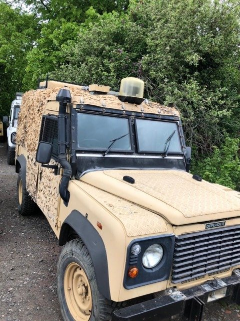 1993 Defender 110 300 ex military bullet & bomb proof For Sale (picture 1 of 5)