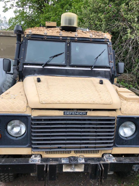1993 Defender 110 300 ex military bullet & bomb proof For Sale (picture 2 of 5)