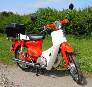 Honda C70 - 1982 - 8000 - UK Bike Fully Restored