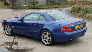 2006 Jasper Blue SL500 For Sale