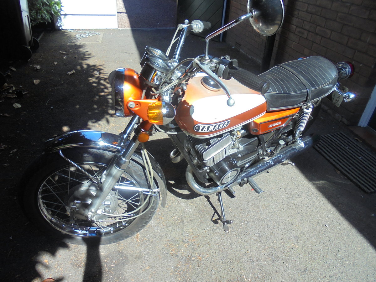 YAMAHA 350 YR5 1971 TOTALLY ORIGINAL For Sale (picture 2 of 6)