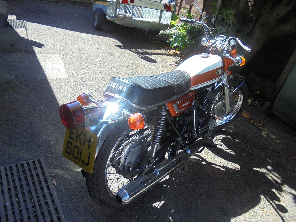 YAMAHA 350 YR5 1971 TOTALLY ORIGINAL For Sale (picture 4 of 6)