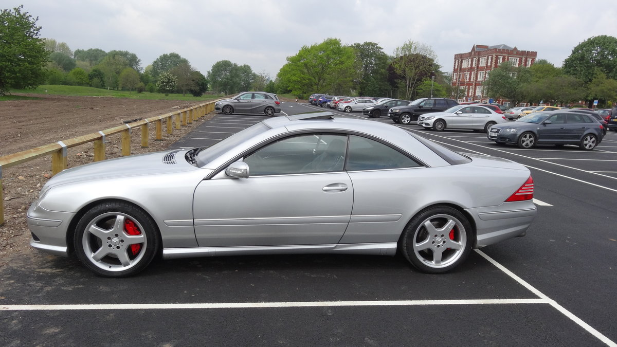 2003 CL55 AMG Kompressor 500bhp model For Sale (picture 2 of 6)
