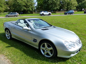 2002 Mercedes-Benz 500 SL R230