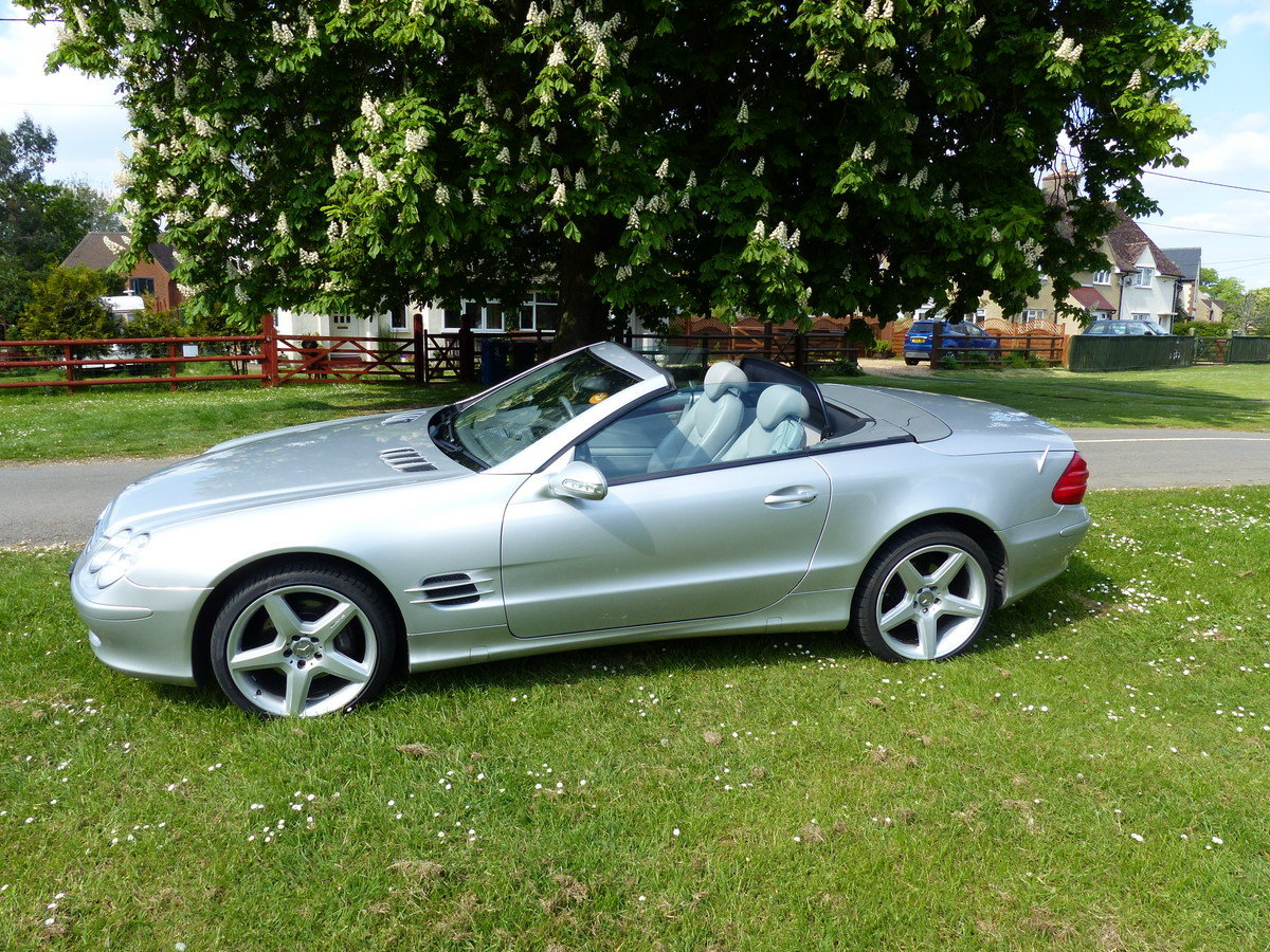 2002 Mercedes-Benz 500 SL R230 For Sale (picture 2 of 6)