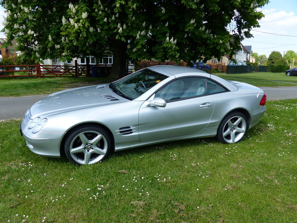 2002 Mercedes-Benz 500 SL R230 For Sale (picture 6 of 6)