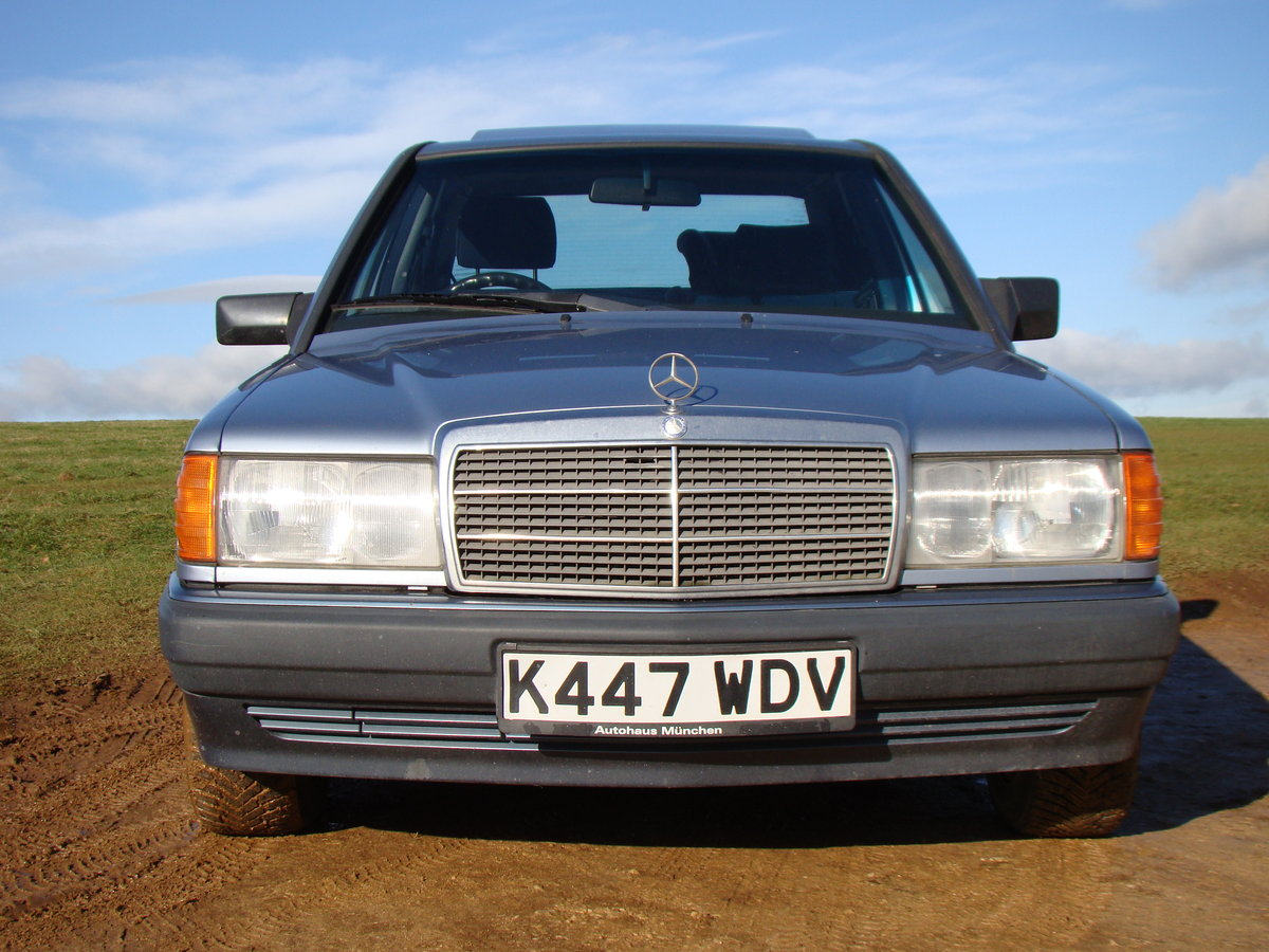 1993 190E 1.8 petrol manual For Sale (picture 1 of 6)