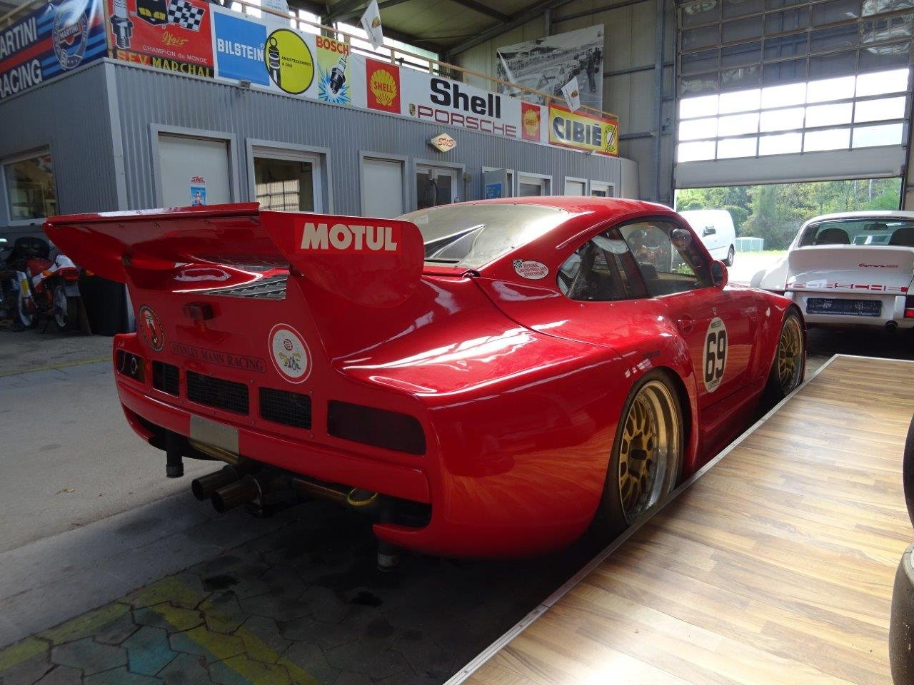 1981 PORSCHE 935 K3 by DP MOTORSPORT For Sale (picture 4 of 6)