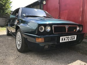 Lancia Delta Evo1, 1992, very rare Derby green. For Sale