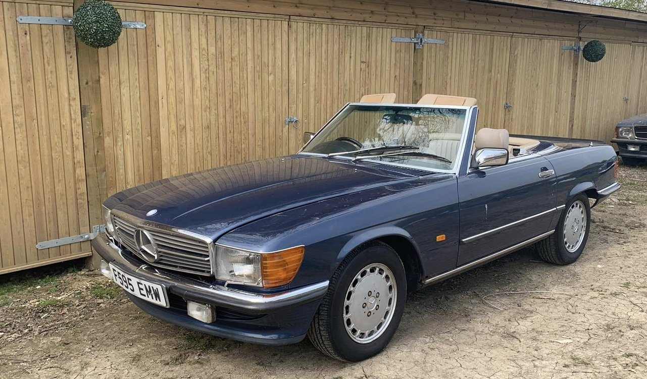 Mercedes 500sl facelift r107 1988 For Sale (picture 1 of 4)