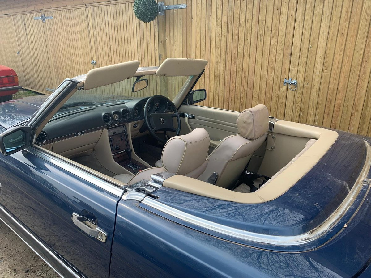 Mercedes 500sl facelift r107 1988 For Sale (picture 4 of 4)