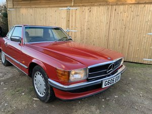 Mercedes Benz 300sl 1989 facelift r107 'G reg' For Sale