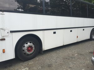 1995 Van hool 55 seater coach seats stripped out ready