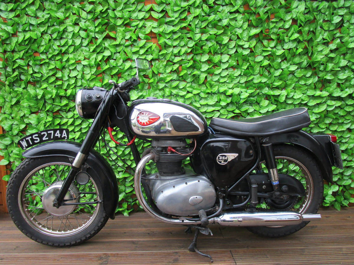 BSA A50 1963 500cc lots of patina, ready to ride  SOLD (picture 1 of 6)