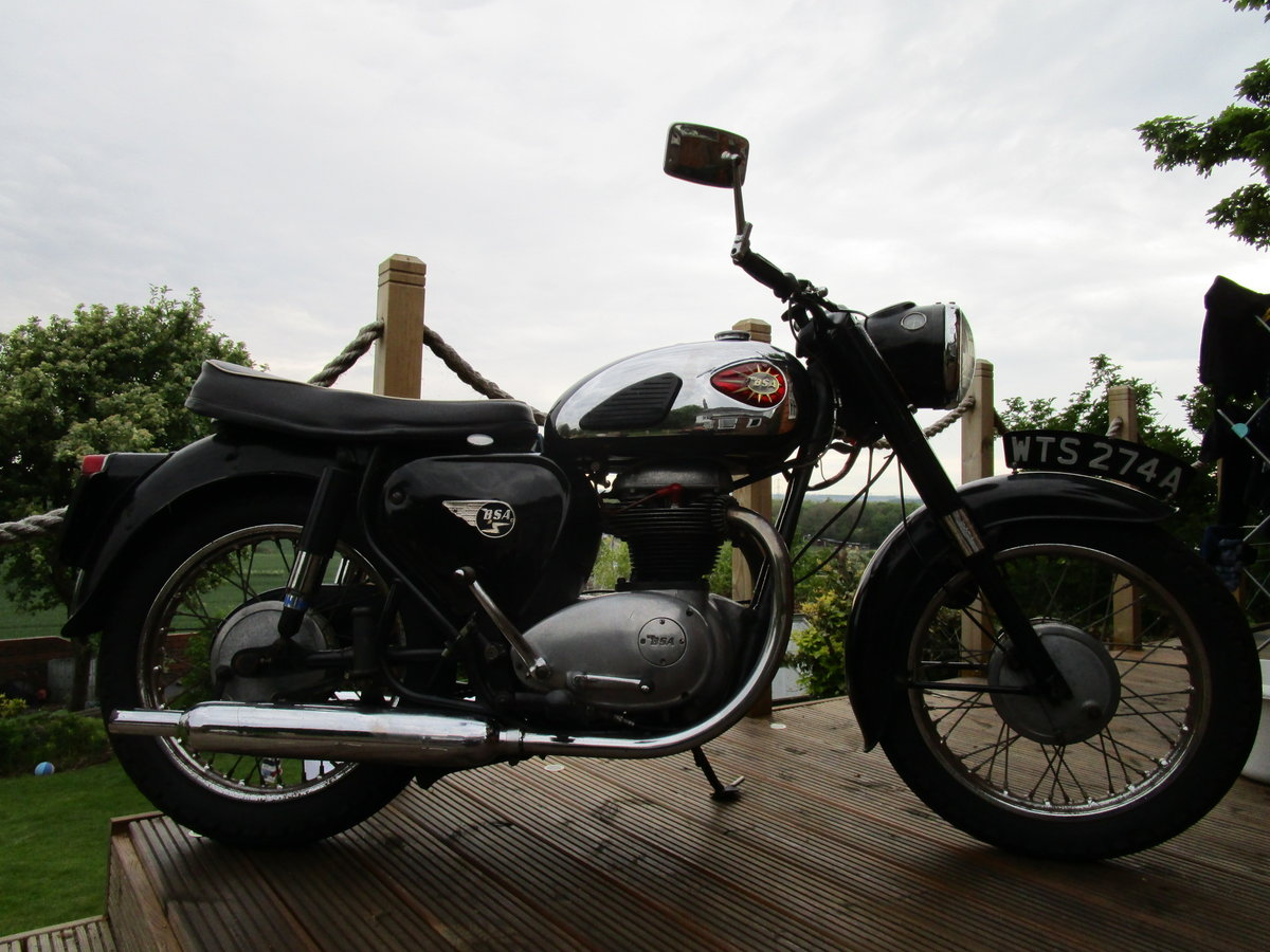 BSA A50 1963 500cc lots of patina, ready to ride  SOLD (picture 2 of 6)