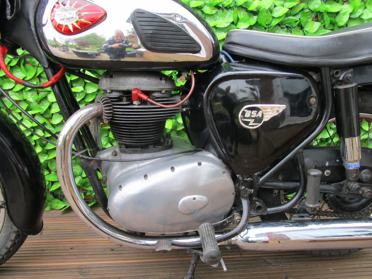 BSA A50 1963 500cc lots of patina, ready to ride  SOLD (picture 3 of 6)