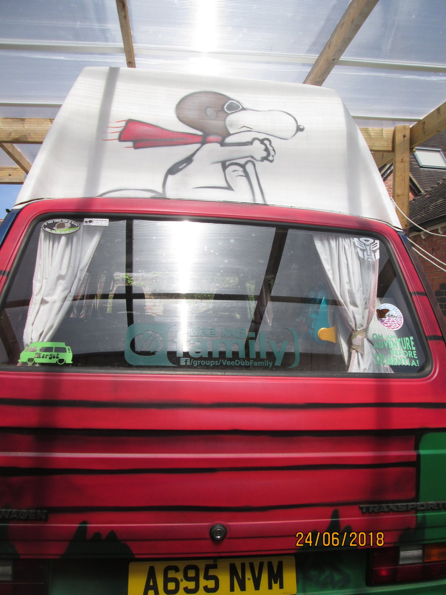 1984 VW T25 HIGH TOP CAMPERVAN 4 berth For Sale (picture 3 of 6)