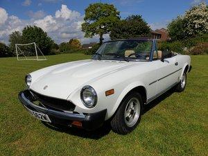 1981 Fiat 124 spyder 2000. For Sale