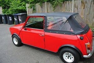 1980 Rare soft top Mini Clubman For Sale