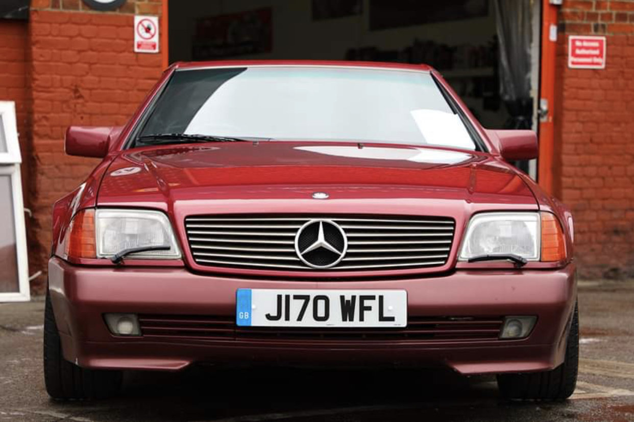 1992 Mercedes-benz sl500 r129 For Sale (picture 4 of 6)