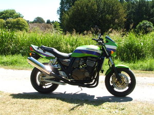 2001 KAWASAKI ZRX 1200R Lawson Colors, Mint & Low Miles For Sale