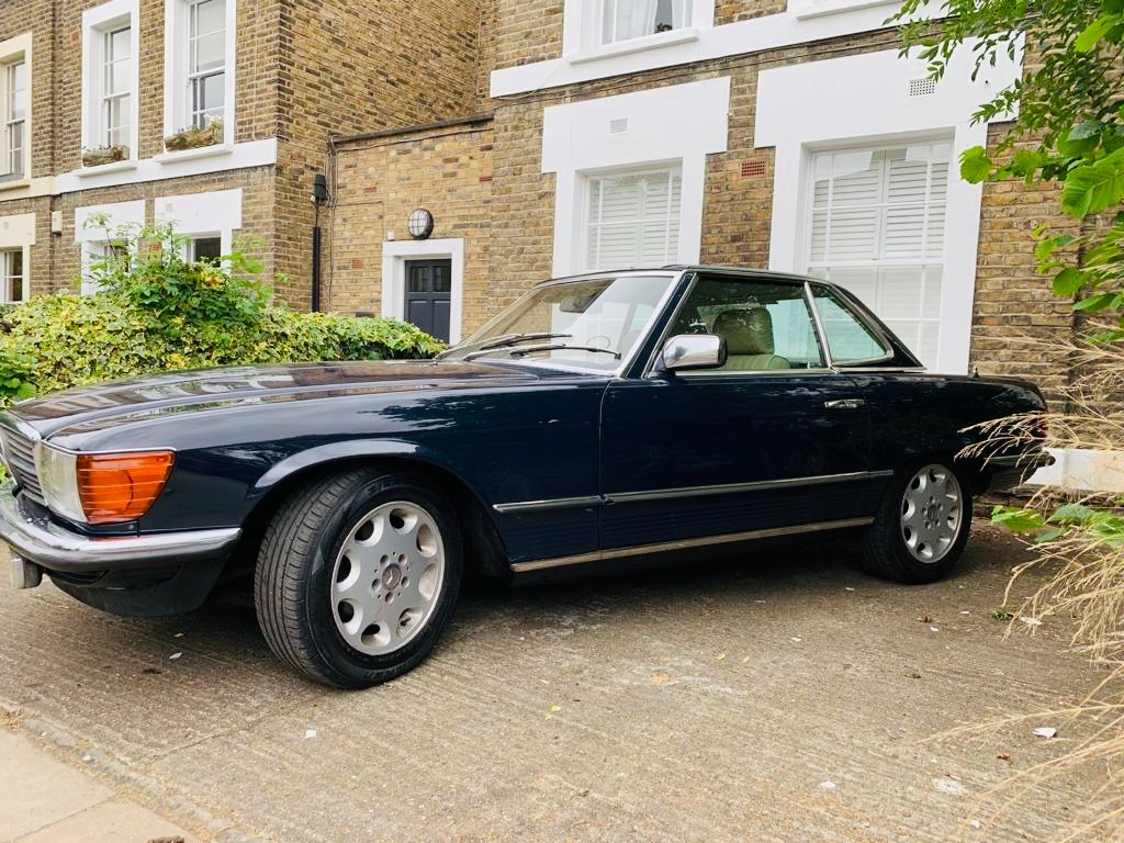 Mercedes 500 SL 1985 Automatic- good condition For Sale (picture 2 of 6)