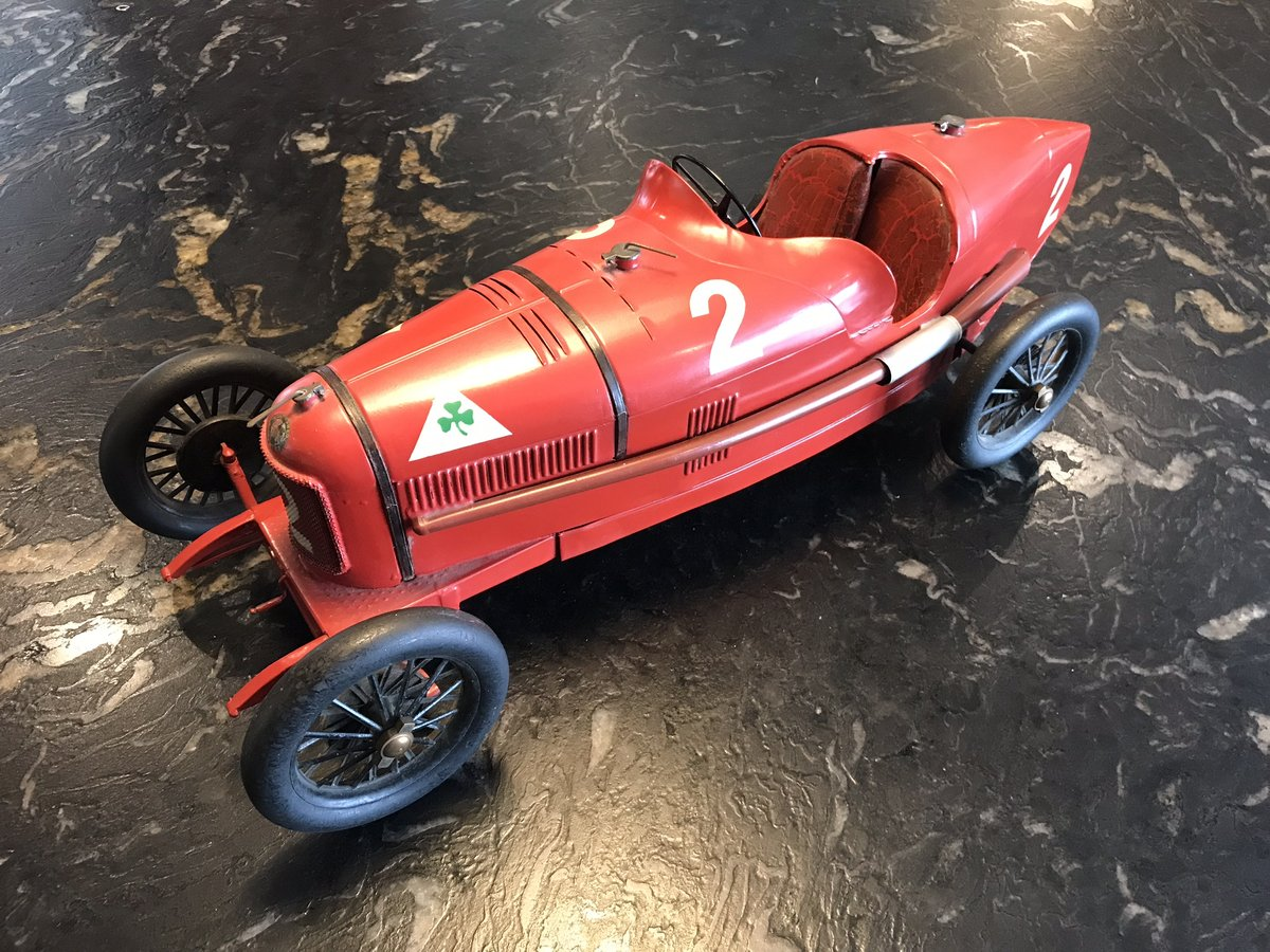 Alfa Romeo P2 Tinplate Toy by CIJ For Sale (picture 3 of 5)