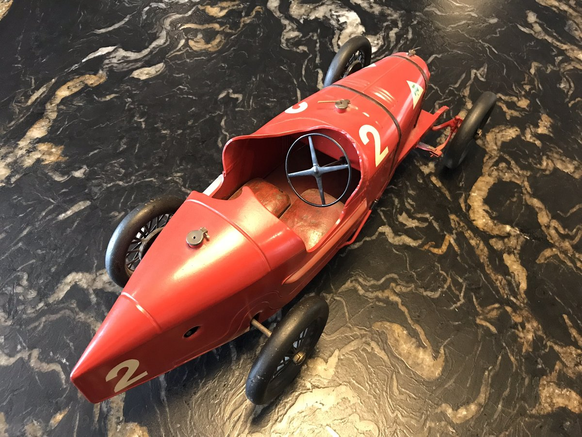 Alfa Romeo P2 Tinplate Toy by CIJ For Sale (picture 4 of 5)