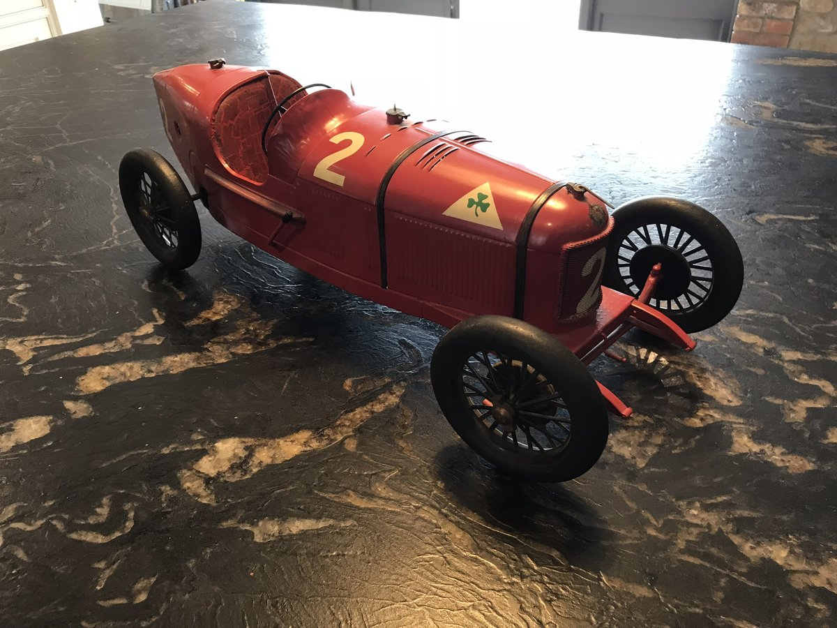 Alfa Romeo P2 Tinplate Toy by CIJ For Sale (picture 5 of 5)